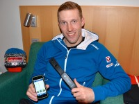 Für ÖSV-Biathlet Dominik Landertinger ist die Messung mit dem Vitalmonitor fixer Bestandteil des Trainingsalltags.