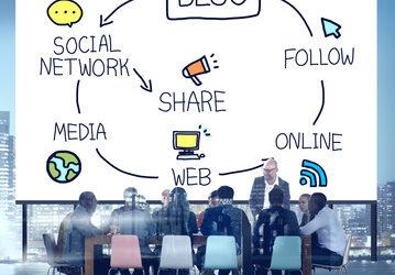Blog Blogging Comunication Connect Data Social Concept