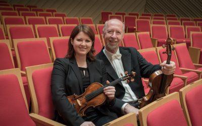 Patricia und Heinrich Koll, Mitglieder der Wiener Philharmoniker