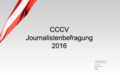 Topergebnisse bei CCCV Journalistenbefragung