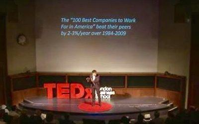 Unternehmen, die MitarbeiterInnen gut behandeln haben eine zwei bis drei Prozent pro Jahr bessere Performance. Employer-Reputation zahlt sich aus