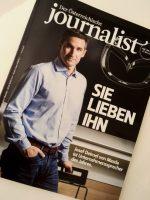 Unternehmenssprecher, Mediensprecher 2016 - Der Journalist