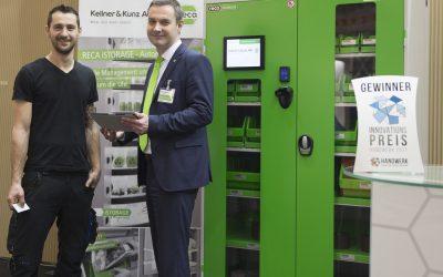 Kellner & Kunz gewinnt Handwerkspreis