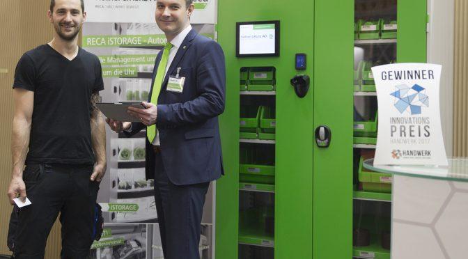 Kellner & Kunz AG gewinnt Sonderpreis für automatisierten Ausgabeautomaten