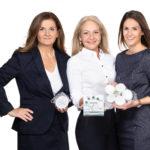 Tatschl Medizintechnik vertreibt ProvidMed exklusiv: Sabina Wiesinger-Tatschl, Lisa Baraldi-Tatschl und Julia Ratzenböck-Tatschl